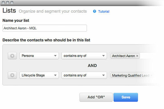 Marketing Automation, Why You're Doing it Wrong - organize and segment your contacts