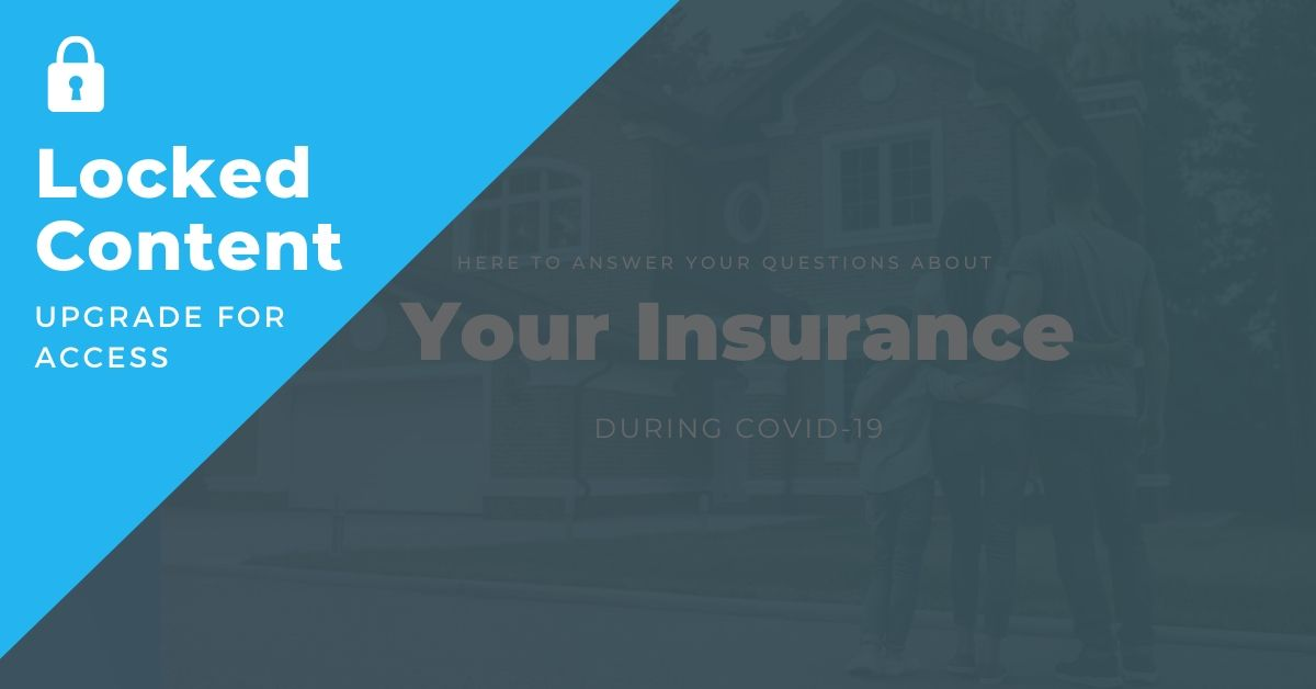 Insurance During COVID-19 - Insurance Marketing Ads